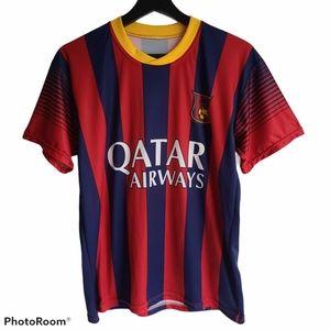 Qatar Airways Neymar Jr Soccer Football Jersey
